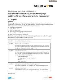 Rückerstattung Baubewilligungsgebühren(PDF, 175 KB) - Stadtwerk ...