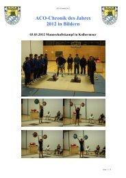 Chronik 2012, in Bildern