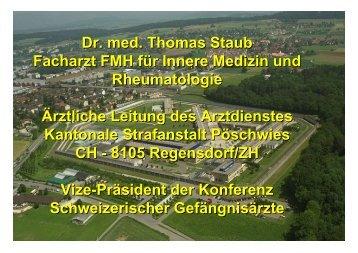 Dr. med. Thomas Staub Facharzt FMH für Innere Medizin und ...