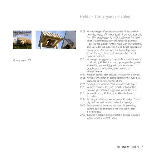HELDUM KIRKE - Lemvig kirkerne