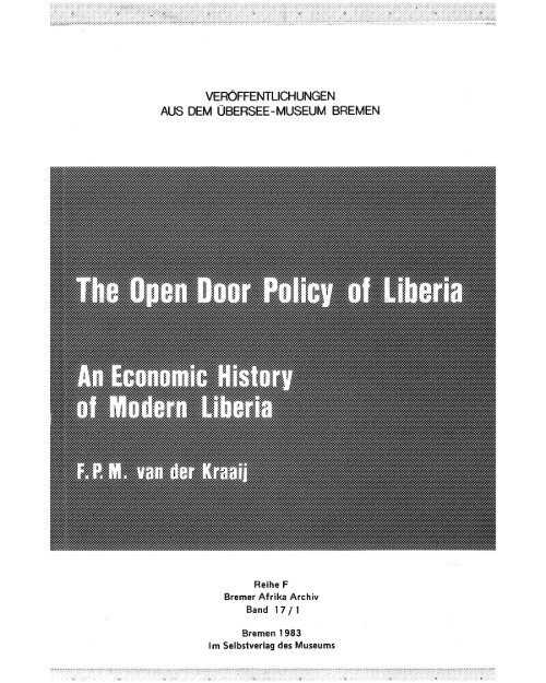 Volume 1 Liberia