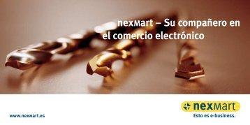 Descarga de folleto infor- mativo - nexMart