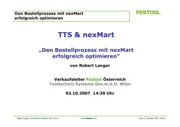 Bestellprozess mit nexMart optimieren