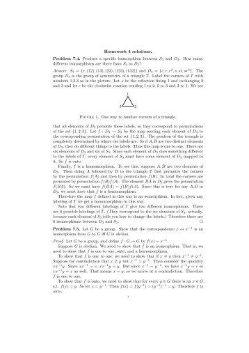 gallian abstract algebra solutions pdf