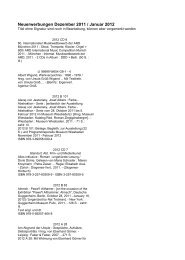 Dezember 2011 / Januar 2012 - Akademie der Künste