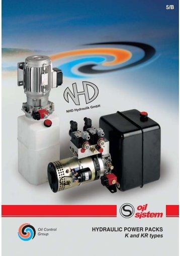 HYDRAULIC POWER PACKS K and KR types 5/B - NHD Hydraulik ...