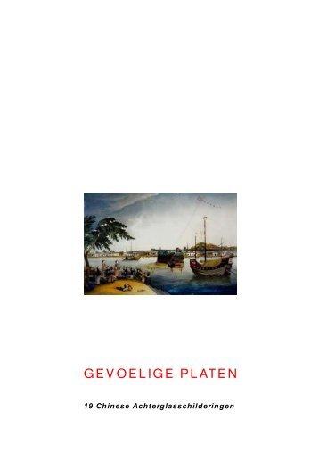 GEVOELIGE PLATEN - Museum Volkenkunde