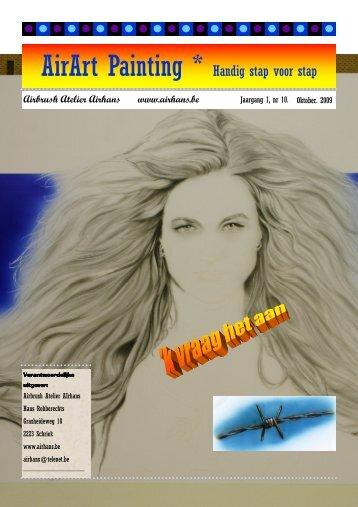 Air Art Painting - n° 11 - November 2009 - Airhans