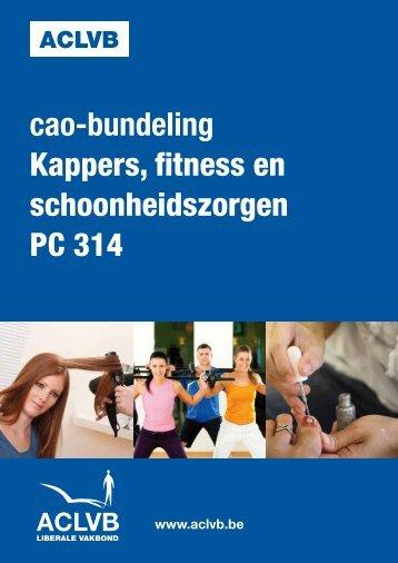 Cao-bundeling kappers, fitness en schoonheidszorgen - aclvb