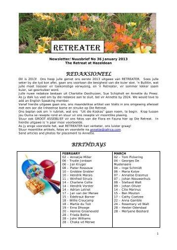 RETREATER - The Retreat