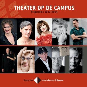 Brochure 2013-2014 (pdf) - Hogeschool van Arnhem en Nijmegen