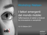 IAB Forum 2011_I-fattori-emergenti-del-mondo-mobile - Nielsen