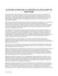 Software License Agreement - Nielsen