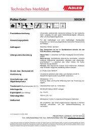 Pullex Color 50530 ff - ADLER - Lacke