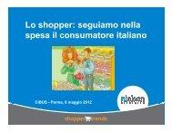 Lo shopper: seguiamo nella spesa il consumatore italiano - Nielsen
