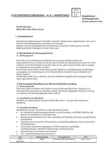 A.6.1. Marte meo - Neukirchener Erziehungsverein