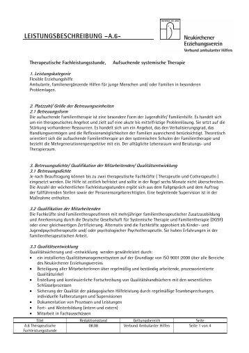 A.6 therapeutische Fachleistungsstunde - Neukirchener ...