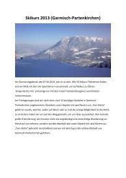Skikurs 2013 (Garmisch-Partenkirchen)