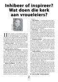Inhibeer of inspireer die kerk vroueleiers? - Page 4