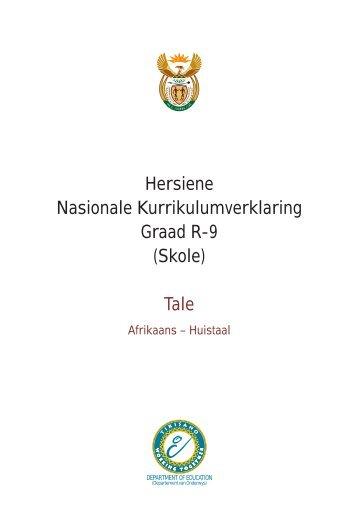 jaarlikse nasionale assessering graad 5 afrikaans huistaal