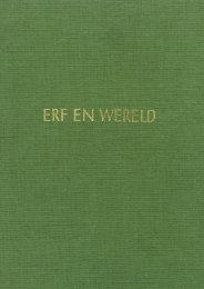 Erf en Wereld - Zuivelhistorie Nederland
