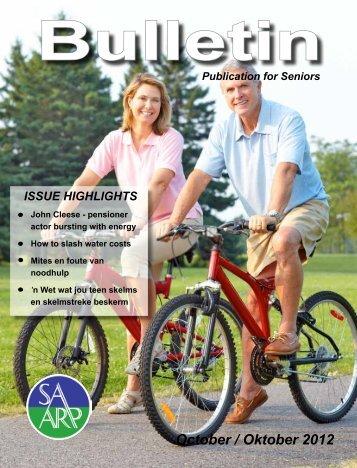 SAVA-Bulletin: Oktober 2012 - saarp