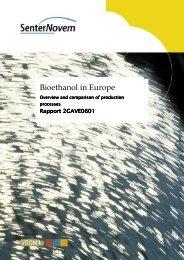 Bioethanol in Europe