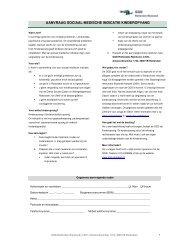 aanvraag sociaal medische indicatie kinderopvang - Gemeente ...