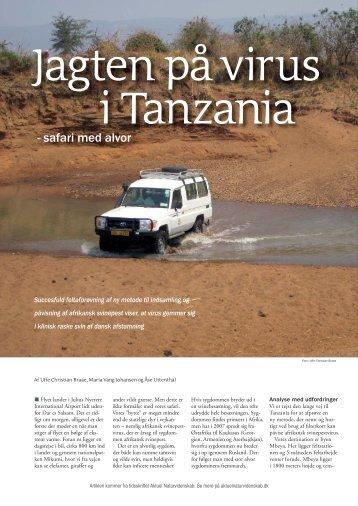- safari med alvor - Aktuel Naturvidenskab
