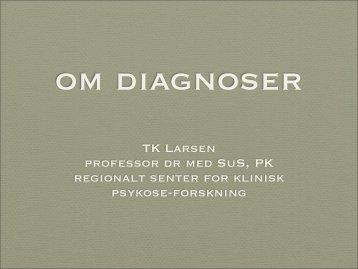 Om diagnoser - TIPS