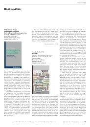 Book reviews - Sanp.ch