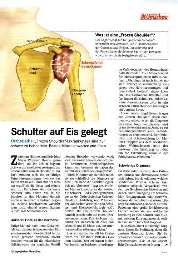 Frozen Shoulder - Dr. Matthias Hoppert