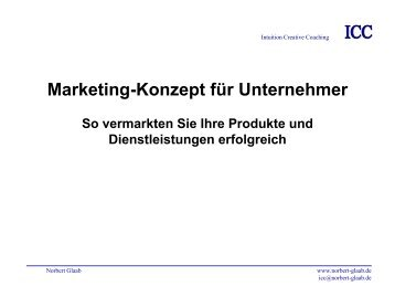 Gratis-Marketing-Konzept - Norbert Glaab Intuitive Creative Coaching