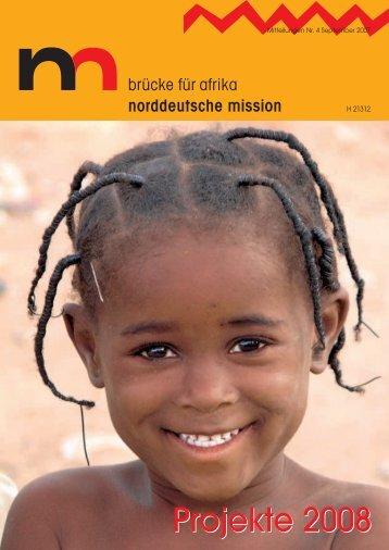 Norddeutsche Mission: Projekte 2008