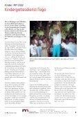 Norddeutsche Mission - Projekte 2003 - Seite 5