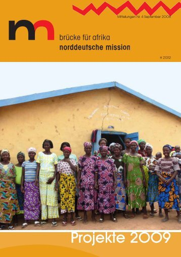 Projekte 2009 - Norddeutsche Mission