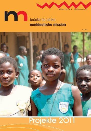 Norddeutsche MIssion: Projekte 2011