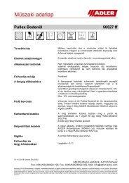 Pullex Bodenöl 50527 ff - ADLER - Lacke