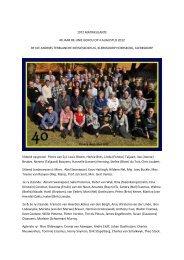 1972 matrikulante 40 jaar re-unie gehou op 4 augustus 2012 by die ...