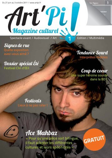 Magazine culturel Ace Mahbaz - Art'Pi