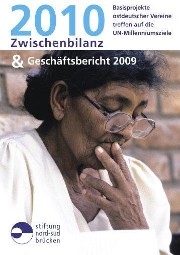 Zwischenbilanz 2010 - Stiftung Nord-Süd-Brücken
