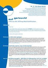 aufgetaucht Nr. 17 - Stiftung Nord-Süd-Brücken