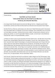 Kauft Bälle aus Fairem Handel Unterschriften-Aktion des Nord Süd ...