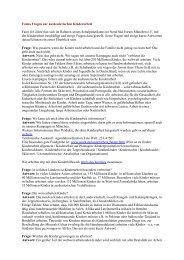 Faims Fragen zur ausbeuterischen Kinderarbeit - Nord Süd Forum ...