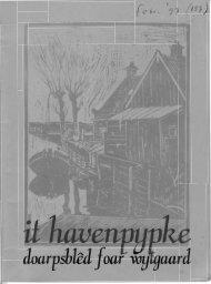 doarpsblêd Jaar - t Havenpypke