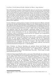 """Vera Emter: Porträt Johannes Kreidler, Akademie der Künste """"Junge ..."""