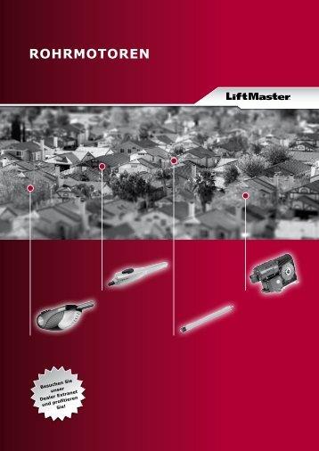 Liftmaster - Rohrmotoren 2012 - Nothnagel