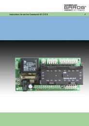 Pulsadores interruptor de presión botón Push interruptor Weiss para torantrieb portón