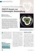 HACCP-Ansatz zur Schimmelpilz-Bekämpfung - NovaBiotec® Dr ... - Seite 2