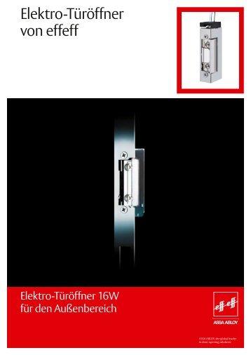 Türöffner 16W.PDF - Nothnagel